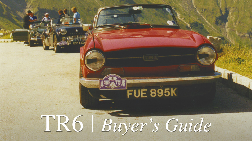 TR6 Buyers Guide blog