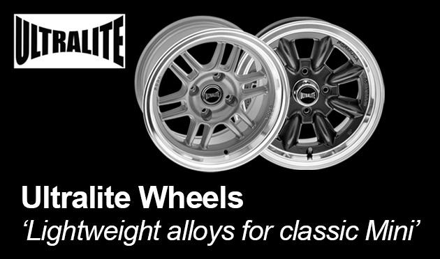 Ultralite Wheels for Classic Mini