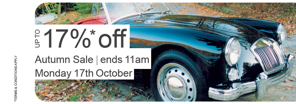 Autumn Sale Up To 17% Off