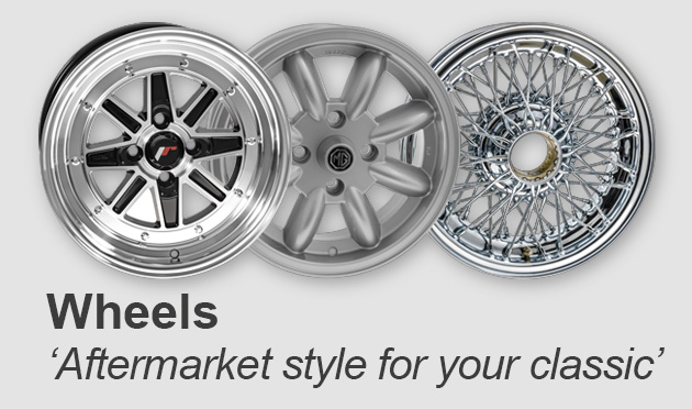A change in wheels can have a striking effect on how your car looks on the road