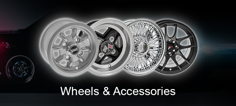 A change in wheels can have a striking effect on how your car looks