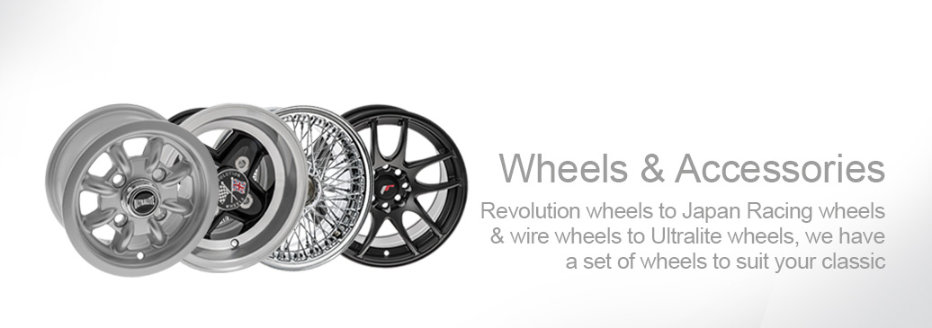 Upgrade your classic with a new set of wheels