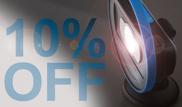 10% Off selected Work Lamps & Torches